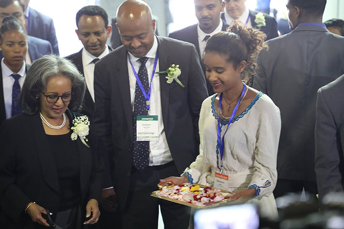 The 7th Hortiflora 2019 expo, an international horticulture and floriculture trade fair, was held in Addis Ababa.