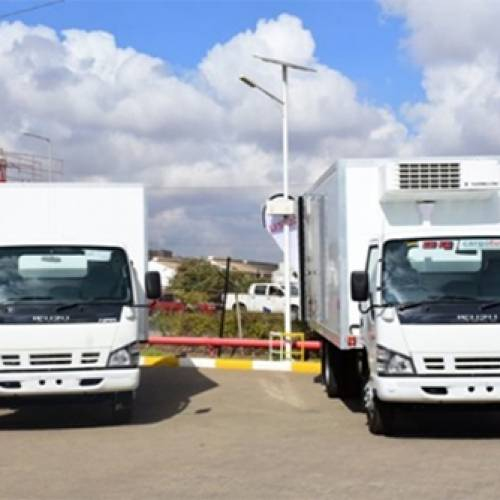 Isuzu East Africa introduces Cold Chain Logistic Vehicles