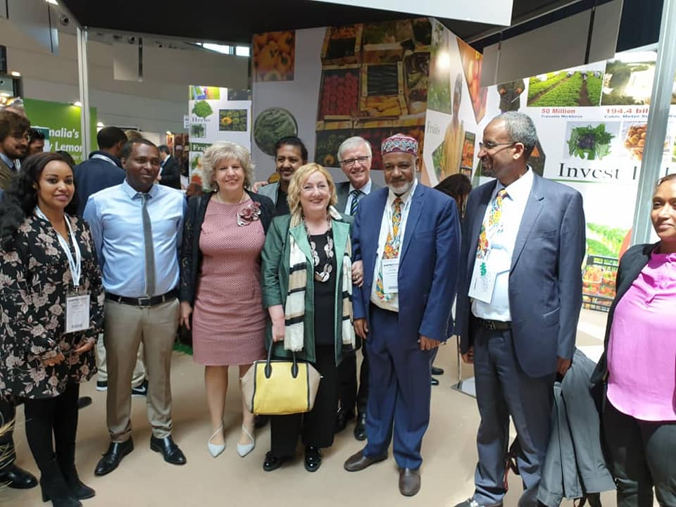 MACFRUT 2019 Expo, African Pavilion officially inagurated at Ethiopian stand
