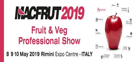 Macfrut Exhibition to be opened next week