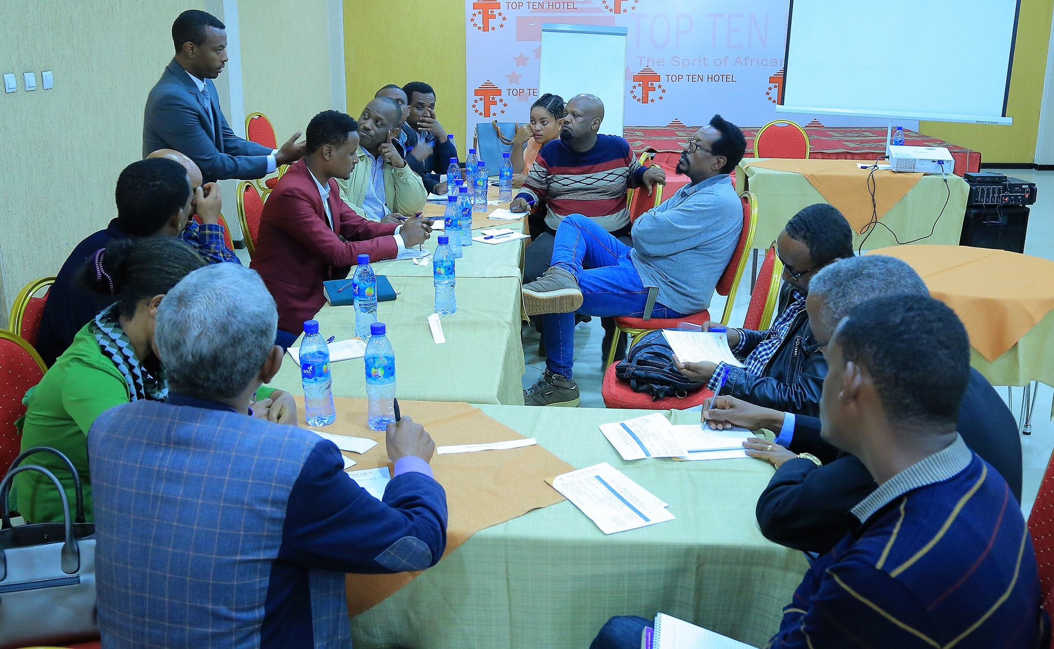 A consultative workshop on environmental protection organized by EFCCC