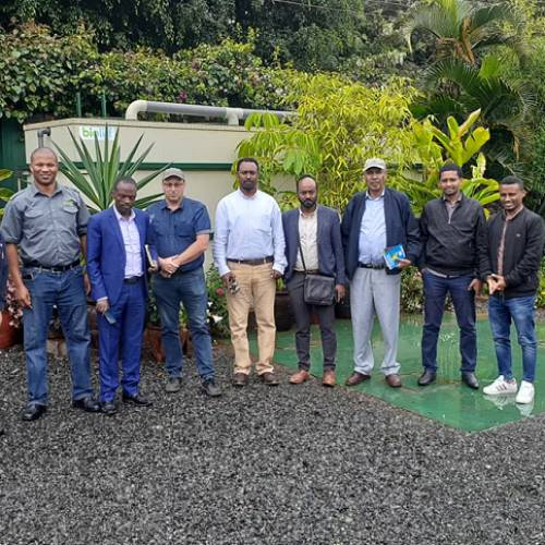 Experience Sharing Program on Kenya Waste Management Technology Organized