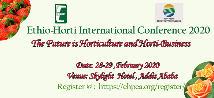 Ethiopia to Host an International Horticulture Conference for the First Time
