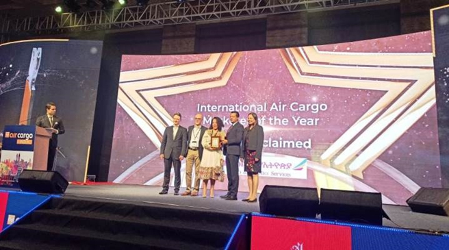 Ethiopian Wins 'International Air Cargo Marketer Of The Year' Award
