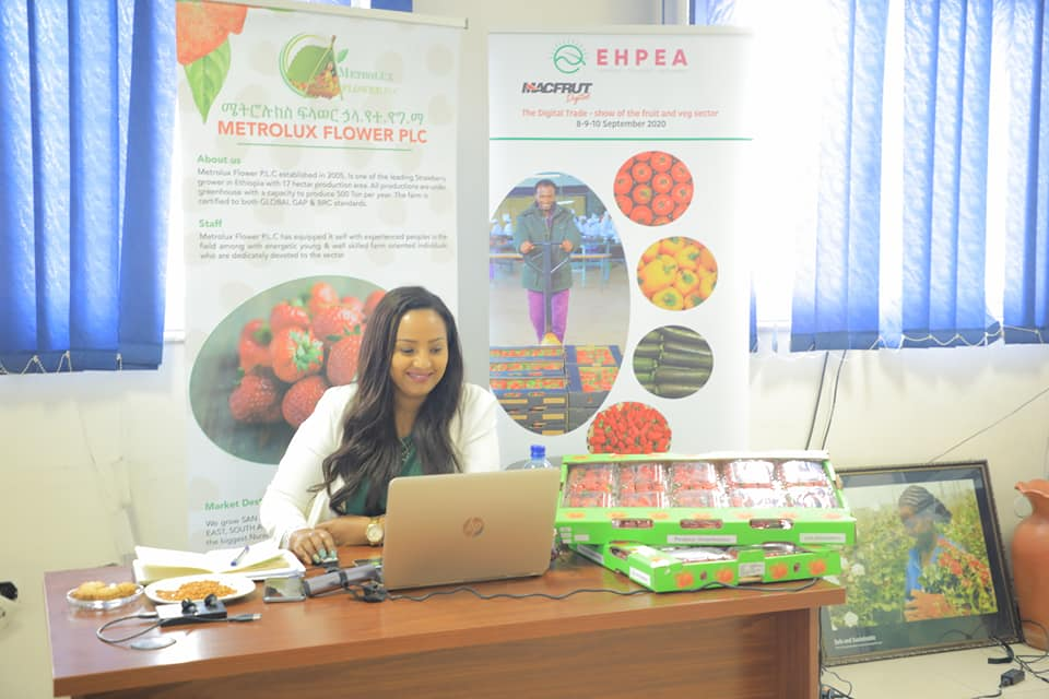 EHPEA member farms exhibiting their products on the Macfrut digital trade fair