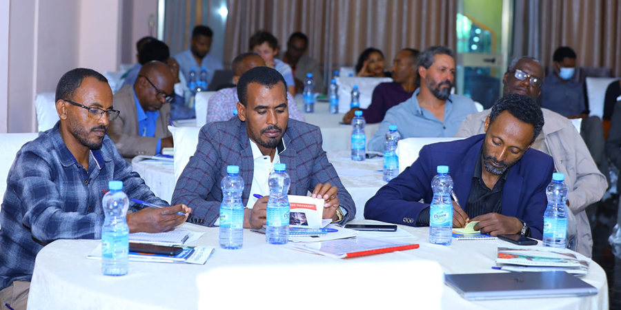 A validation workshop on the doing business challenges of Horticulture export farms operating in Amhara Regional State held in Bahirdar at Jacaranda hotel