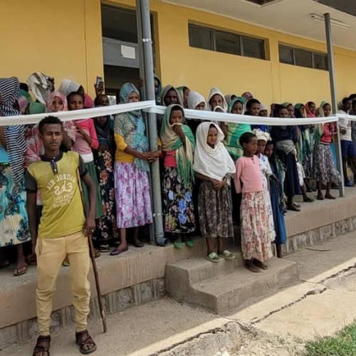 Tana Flora PLC. inagurated the newly built class rooms