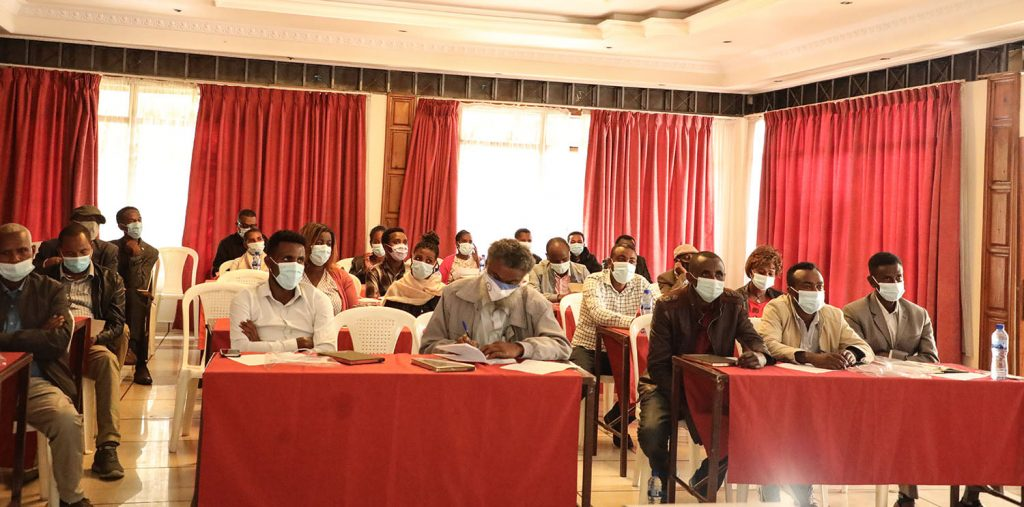 Government Stakeholders engagement workshop held today June 15, 2021 at Holeta Yilma Hote